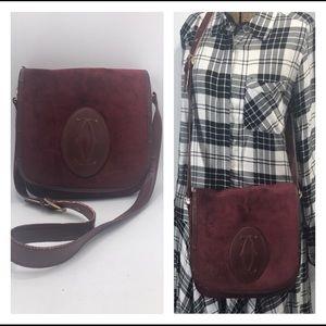 Authentic Cartier Rare Vintage Crossbody Bag